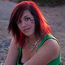 Red Hair at Sunset by Renee D. Miranda