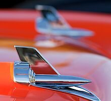1957 Chevrolet Belair Hood Ornament by Jill Reger
