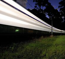 Long Exposure - Train by Jordan Schofield