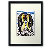I Choose You ~ you are my penguin. Framed Print