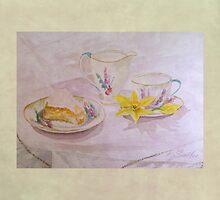 Lemon Afternoon Tea by Patsy Smiles