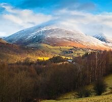Snow on Blencathra by mattcattell