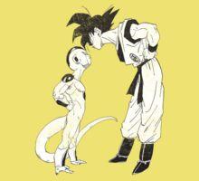 Goku & Frieza scratch Kids Clothes