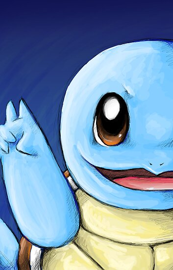 Squirtle! by Shelbeawest