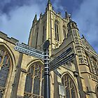 Bury St Edmunds Cathedral  by Dale Batchelor