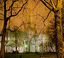 Church gets spooky at night by mariusnn