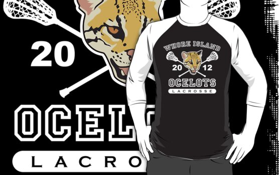 Go Ocelots! (White Fill) by BabyJesus