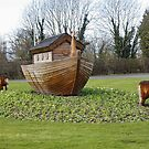 Noahs Ark : Roundabout/Rotary to Chester Zoo, UK by AnnDixon