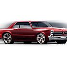 Pontiac GTO by Jason Battersby Design