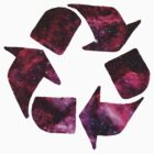 Galaxy recycling logo by sky-1ine