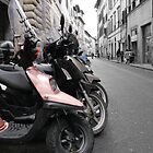 Motor bikes in Italy by KSKphotography