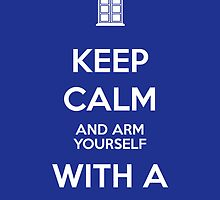 Keep calm and arm yourself with a book! by Laurel Eby