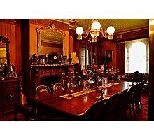 Monte Christo Formal Dining room.[Byo Spirits]. Photographic Print
