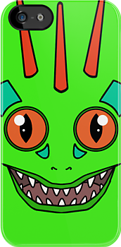 Green Murloc by RubyTruffles