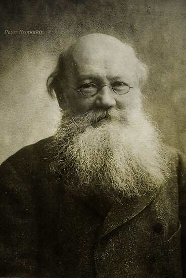 Peter Kropotkin by garts