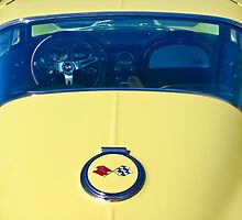 1967 Chevrolet Corvette Rear View by Jill Reger