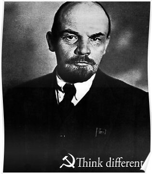 Piece a Week #17: Think Different (Lenin) by Insecondsflat