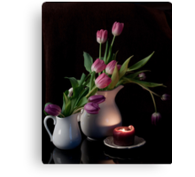 The Beauty of Tulips Canvas Print