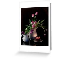 The Beauty of Tulips Greeting Card