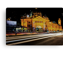 City Rush Canvas Print