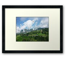 Paragliders Framed Print