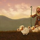 The Good Shepherd (morning) by Stijn Van Elst