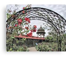 Prabhupada's Palace Gardens Canvas Print