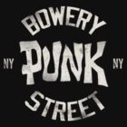 Bowery Punk Street by Alternative Art Steve