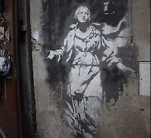 Banksy Obey Team by Andrea Tronchin
