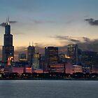 Chicago Skyline by sanzphotos