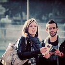 tourists by Darta Veismane