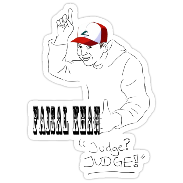 Faisal Khan - Judge! by eevilmurray
