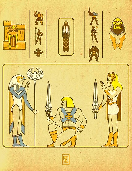 Walk Like an Eternian by ninjaink