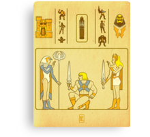 Walk Like an Eternian Canvas Print