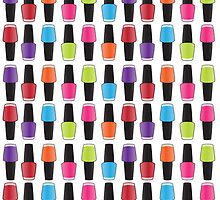 Nail polish pattern by joanak