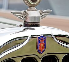 1927 Chandler 4-Door Hood Ornament by Jill Reger