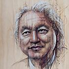 Michio Kaku by Fay Helfer