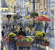 Prague Mustek First Heat by Yuriy Shevchuk