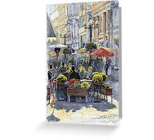Prague Mustek First Heat Greeting Card