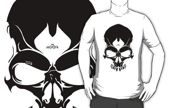 2012Skull-Black by SEspider