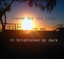 Light the dark by Amara Campbell