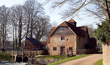 Mapledurham Water Mill by Jim Hellier