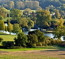Mapledurham Lock River Thames by Jim Hellier