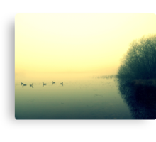 morning over Priddy Canvas Print