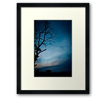 Spookiness Framed Print