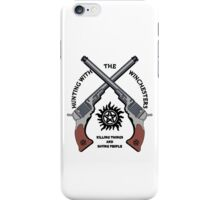 Hunting with the Winchesters 2 iPhone Case/Skin