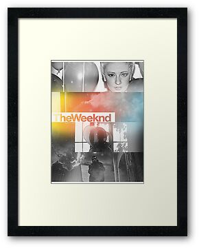 The Weeknd Artwork by Faded Fabrics