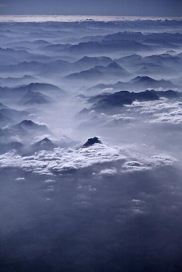 Misty Alps by Calin Lapugean