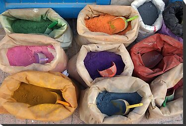 bags of colour by offpeaktraveler