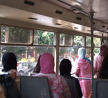 bus ride in morocco by offpeaktraveler